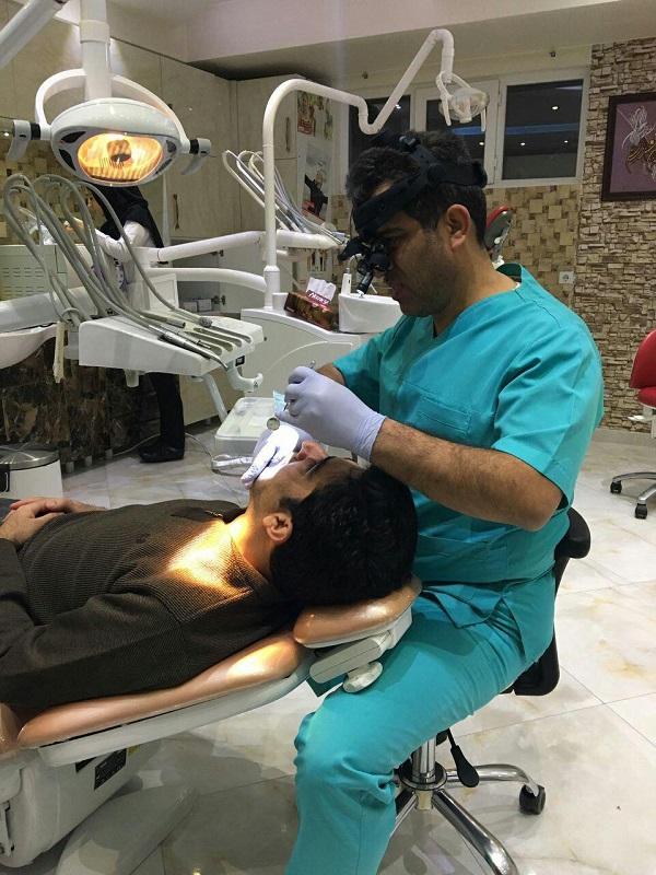 استفاده از لوپ دندانپزشکی